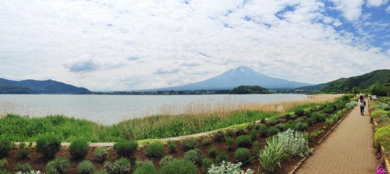 Mt Fuju dari Danau Kawaguchiko